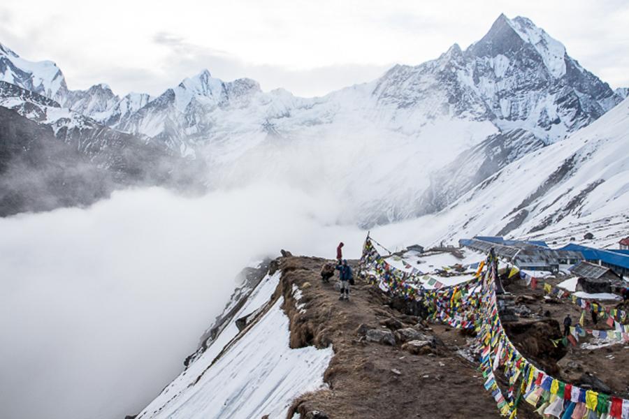 Невероятные Гималаи! Трек к базовому лагерю Аннапурны!